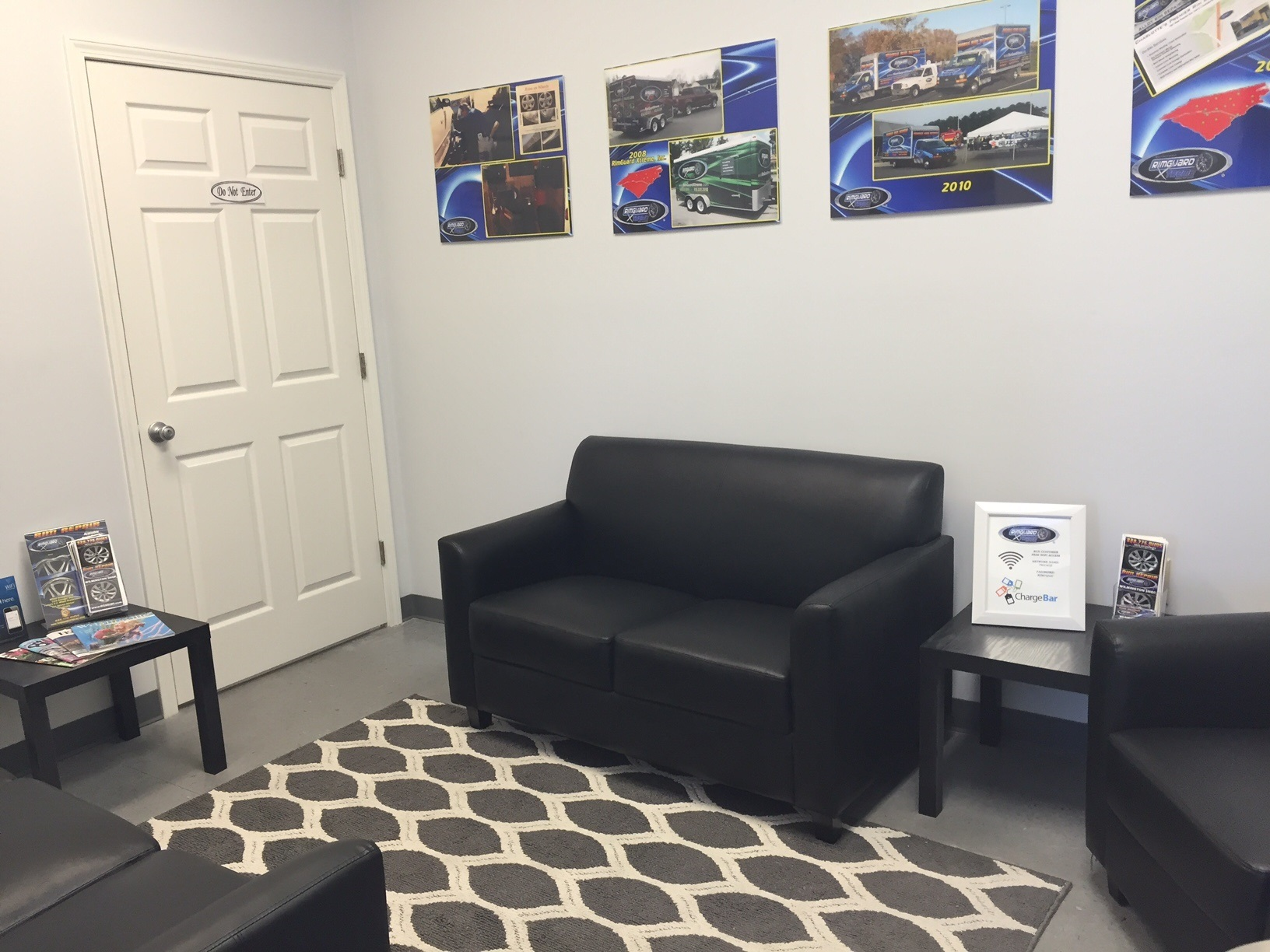 RGX Greensboro Rim Repair Waiting Room
