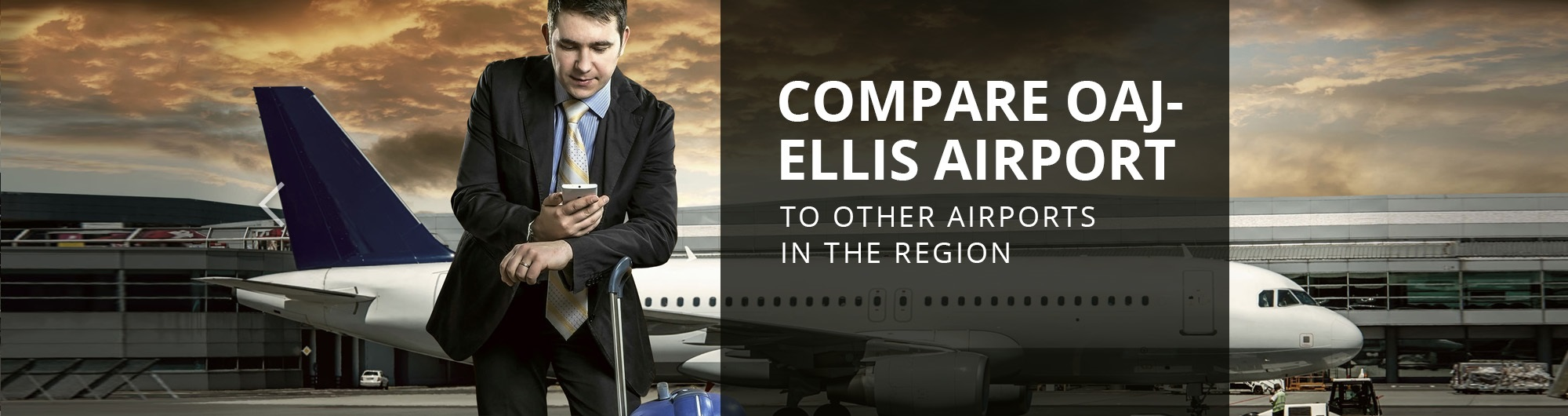 Compare OAJ-Ellis Airport