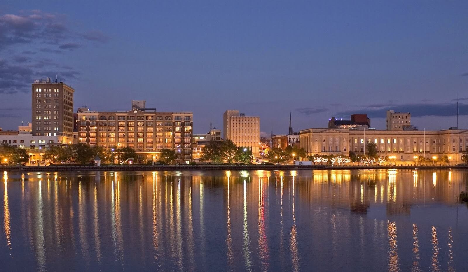 Downtown Wilmington - The Cape Fear River