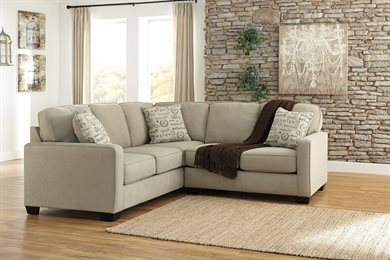 Alenya Upholstered 2PC Sectional Quartz