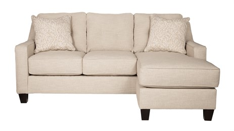 Nuvella Queen Sofa Chaise Sleeper Sand