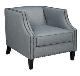 LaVernia Upholstered Accent Chair Navy
