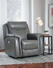 Uptown Leather Wall Hugger Recliner