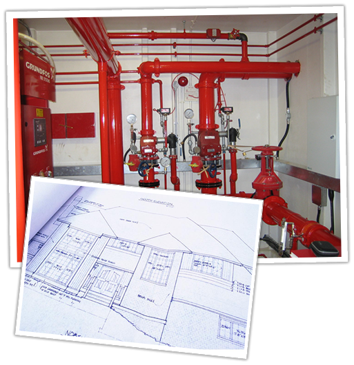 Professional fire protections systems installation
