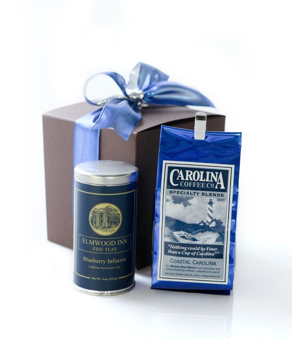 Carolina Coffee Coffee and Tea Gift Box