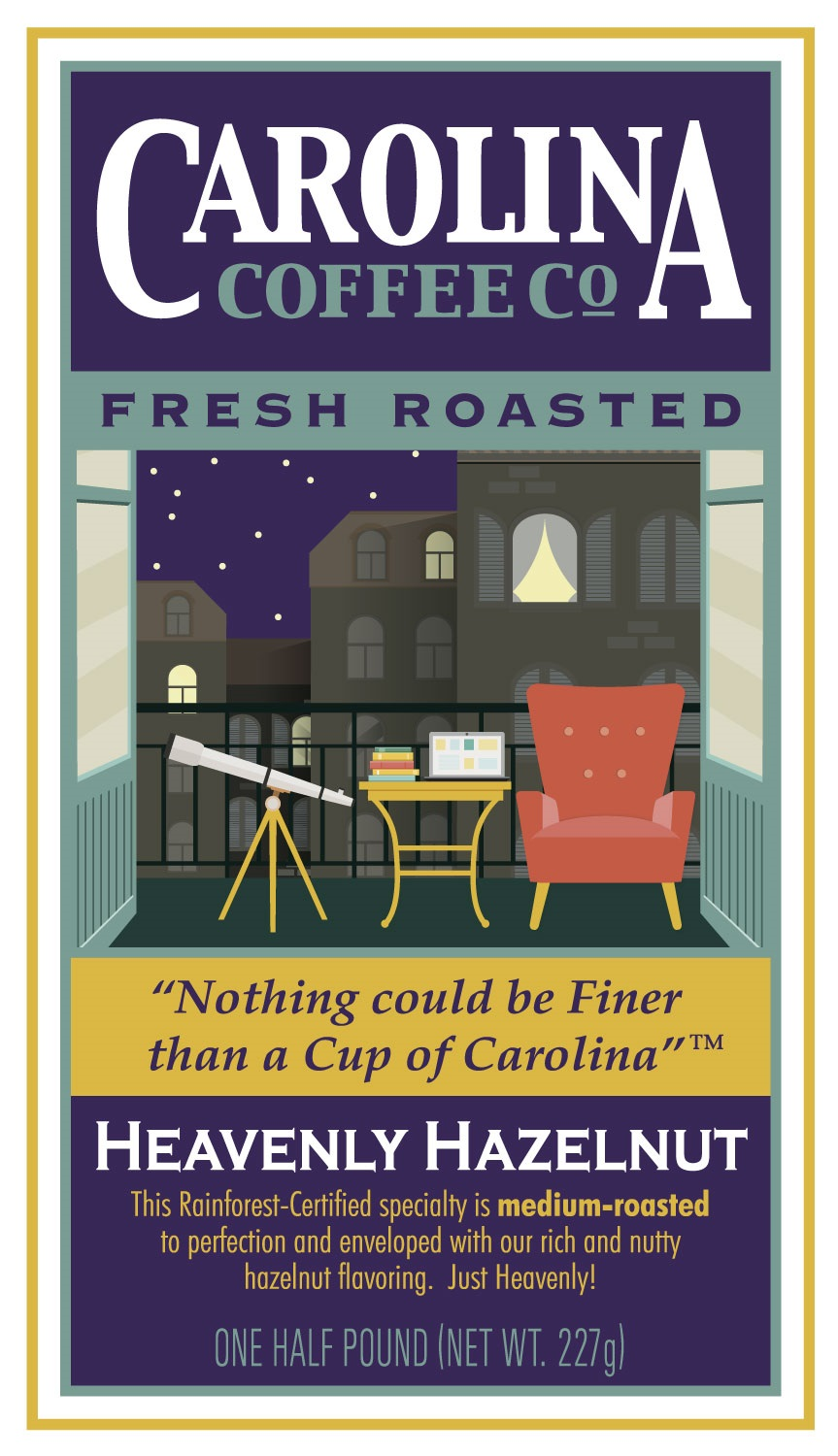 Carolina Coffee Heavenly Hazelnut