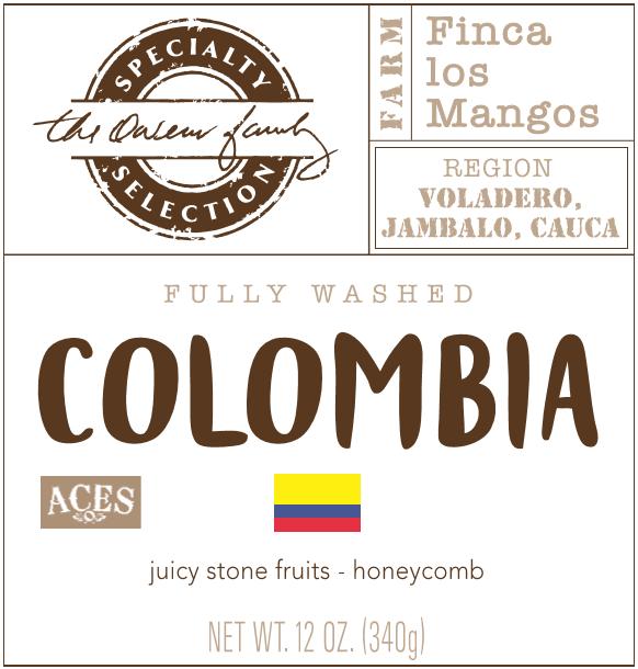 Carolina Coffee Colombia Finca los Mangos