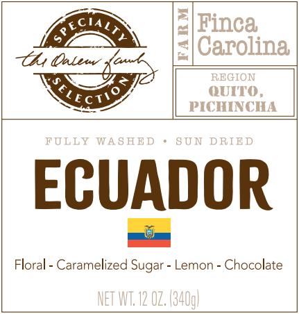 Carolina Coffee Ecuador Finca Carolina
