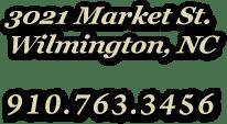 3021 Market St. | 910.763.3456