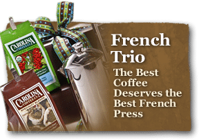 The best coffee deserves the best french press so we're pleased to offer you just that!