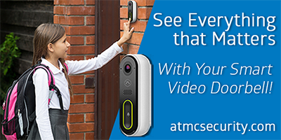 Make Life Easier with a Doorbell Camera from ATMC Security