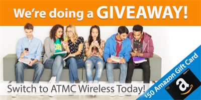 Join ATMC Wireless for a Chance to Win $50