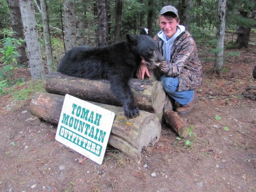 Young Hunters Love to Get Their Bear