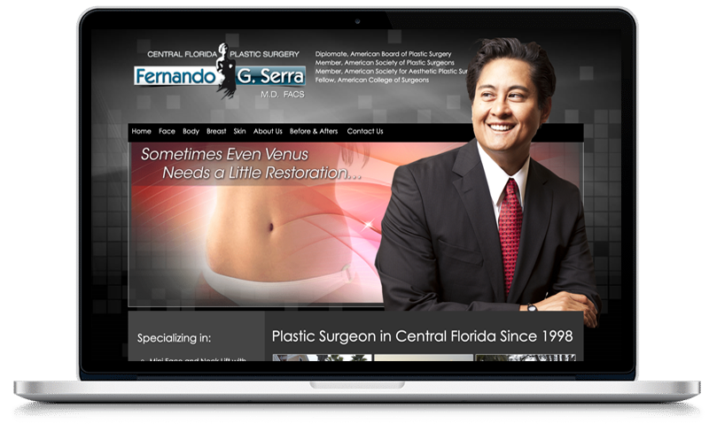 SEO Case Study Central Florida Plastic Surgery