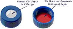 Request Samples of Caps with Partial Slit(Y) Septa