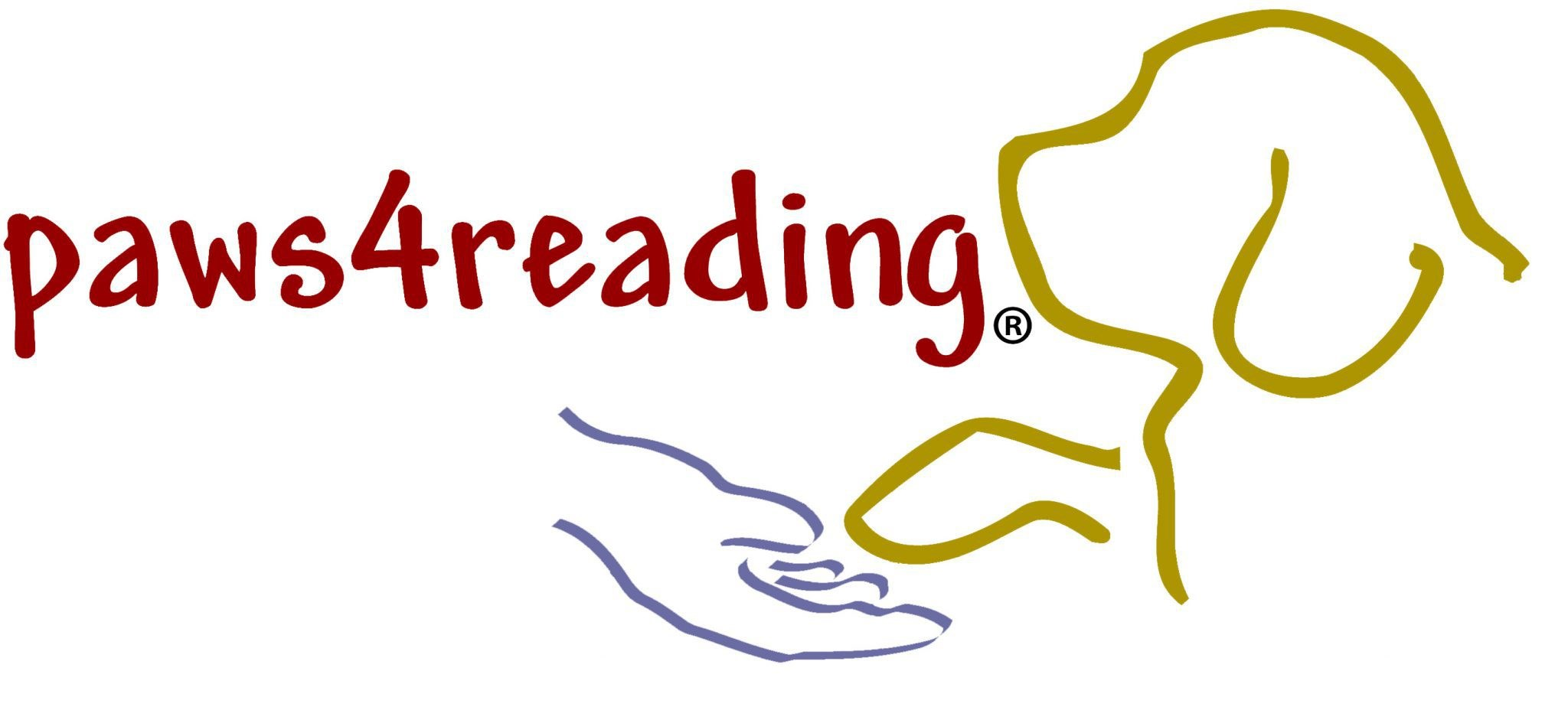 paws4reading logo