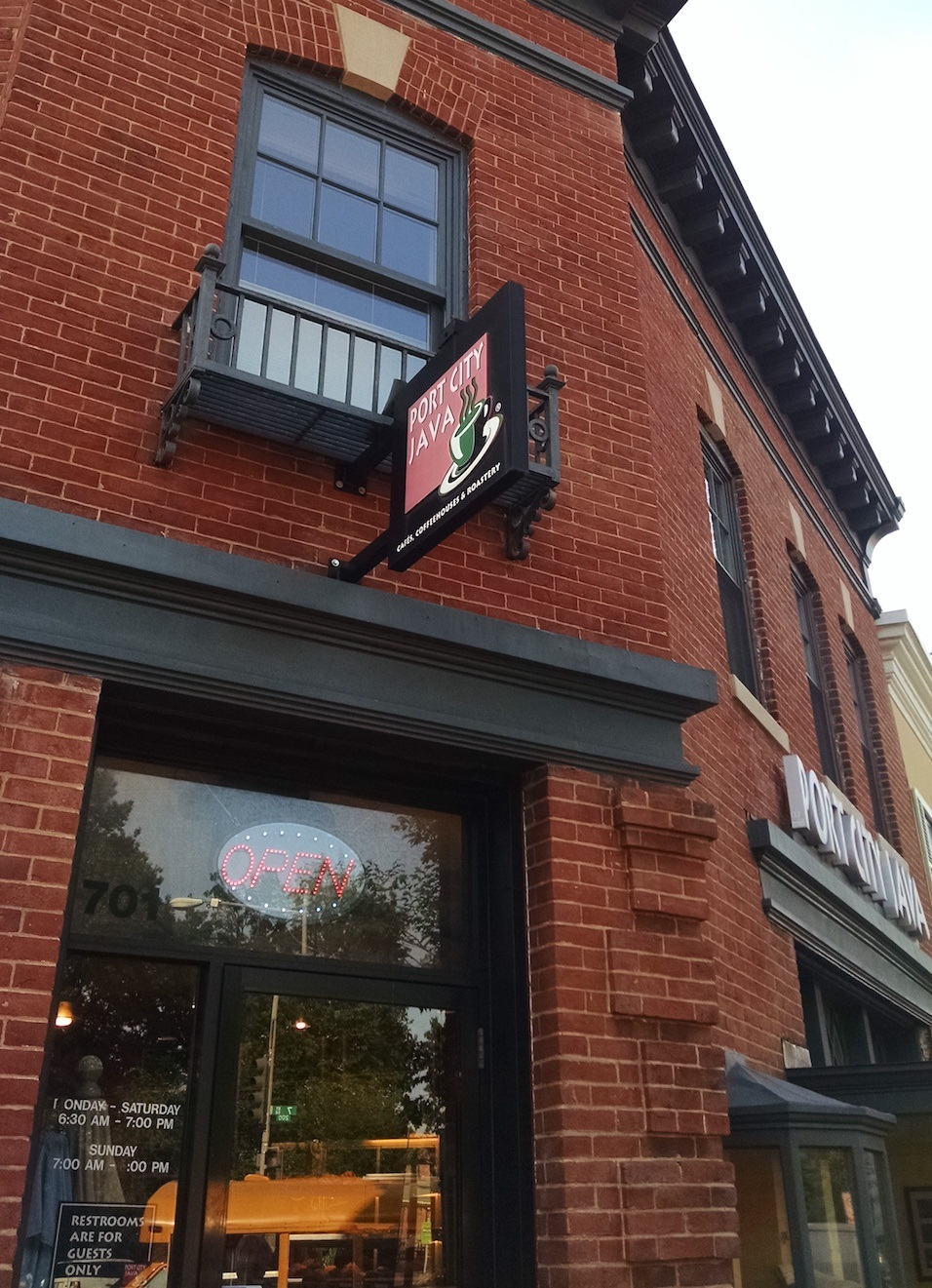 Our Washington DC Port City Java cafe was opened in 2006!