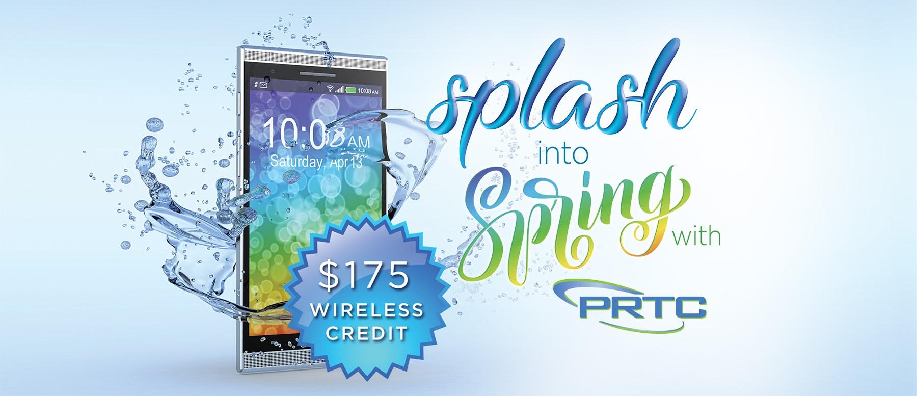Splash into Spring with Wireless Deals