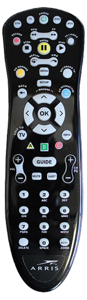 Arris MXv4 Remote Control