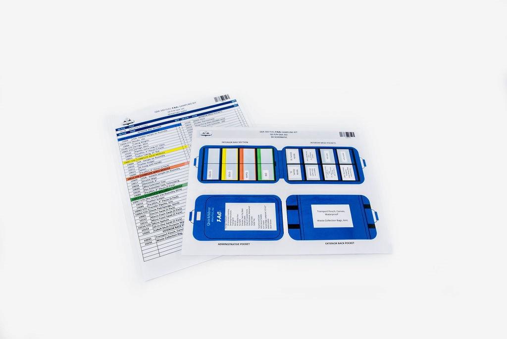 Standard QSA 102 Inventory Schematic