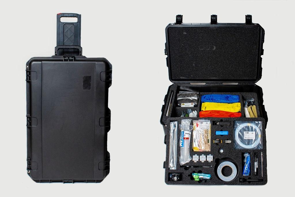 CBRE Hard Case Sampling Kit, TRAINING