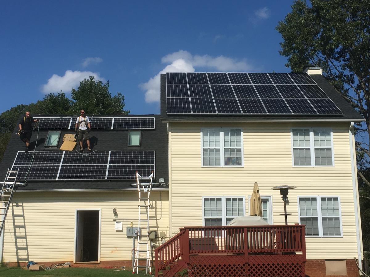 Solar Panel Contractor for Homes