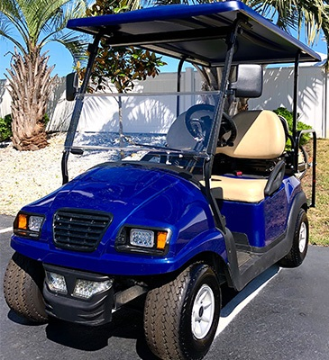 2020 Club Car 4 Passenger with Custom Phantom Body