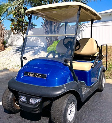 2014 Club Car 4 Passenger