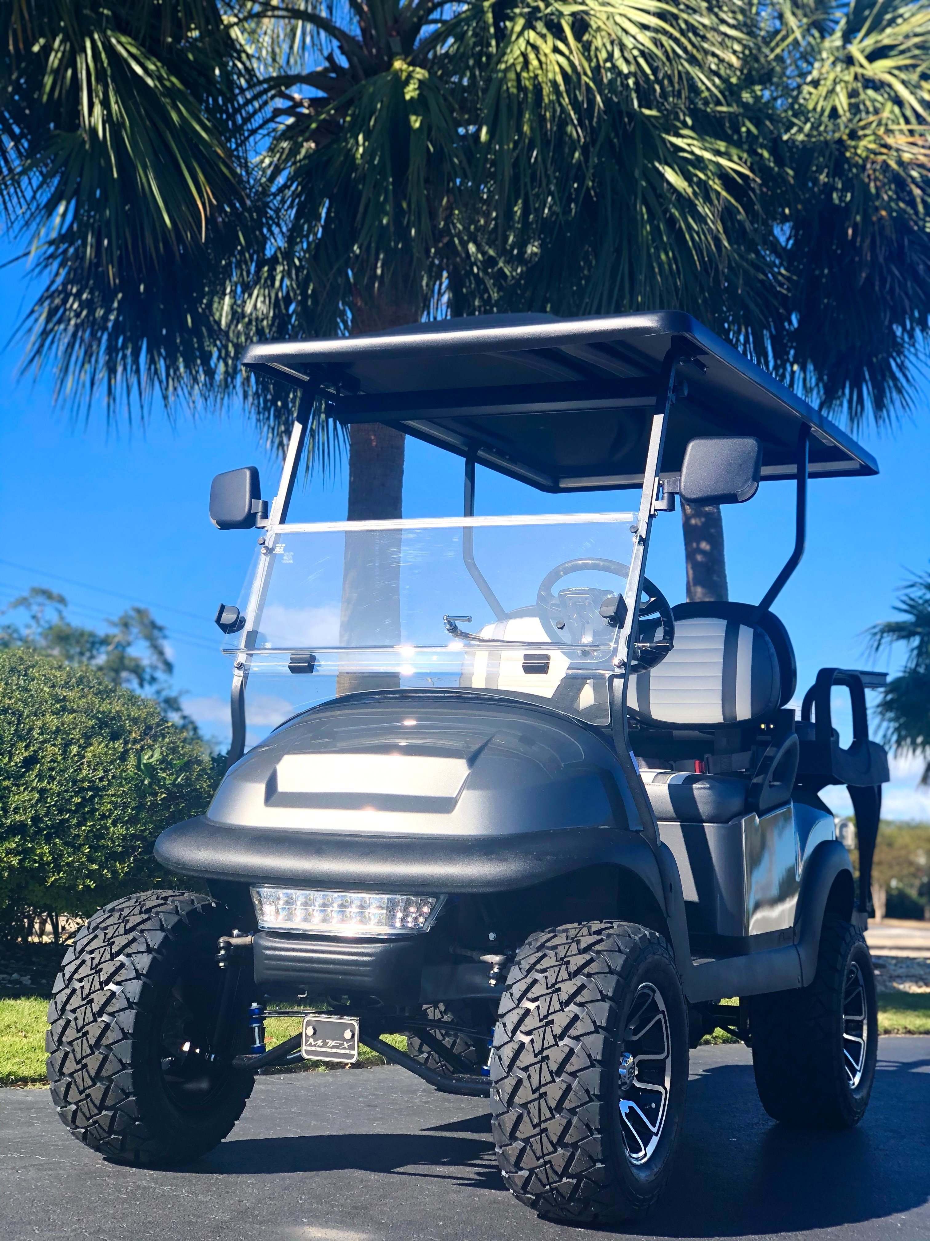 2021 Club Car Precedent 4 Passenger LIFTED