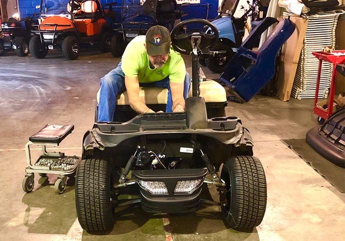 Golf Cart Service Repairs & Maintenance