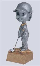 BH-6 - Male Golf Bobblehead Figure
