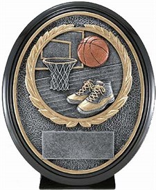 CAT-690 - Basketball Resin Trophy