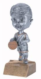 BH-6 - Female Basketball Bobblehead Figure