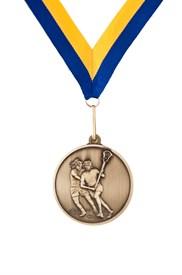 MDL-5 Female Lacrosse Medal ***AS LOW AS $3.20 each***
