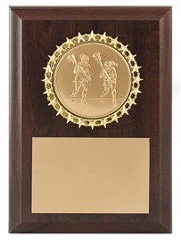 CL46 Female Lacrosse Plaque