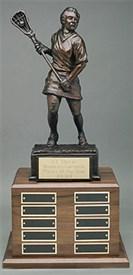 LSSF-14 - Female Lacrosse Player Sculpture