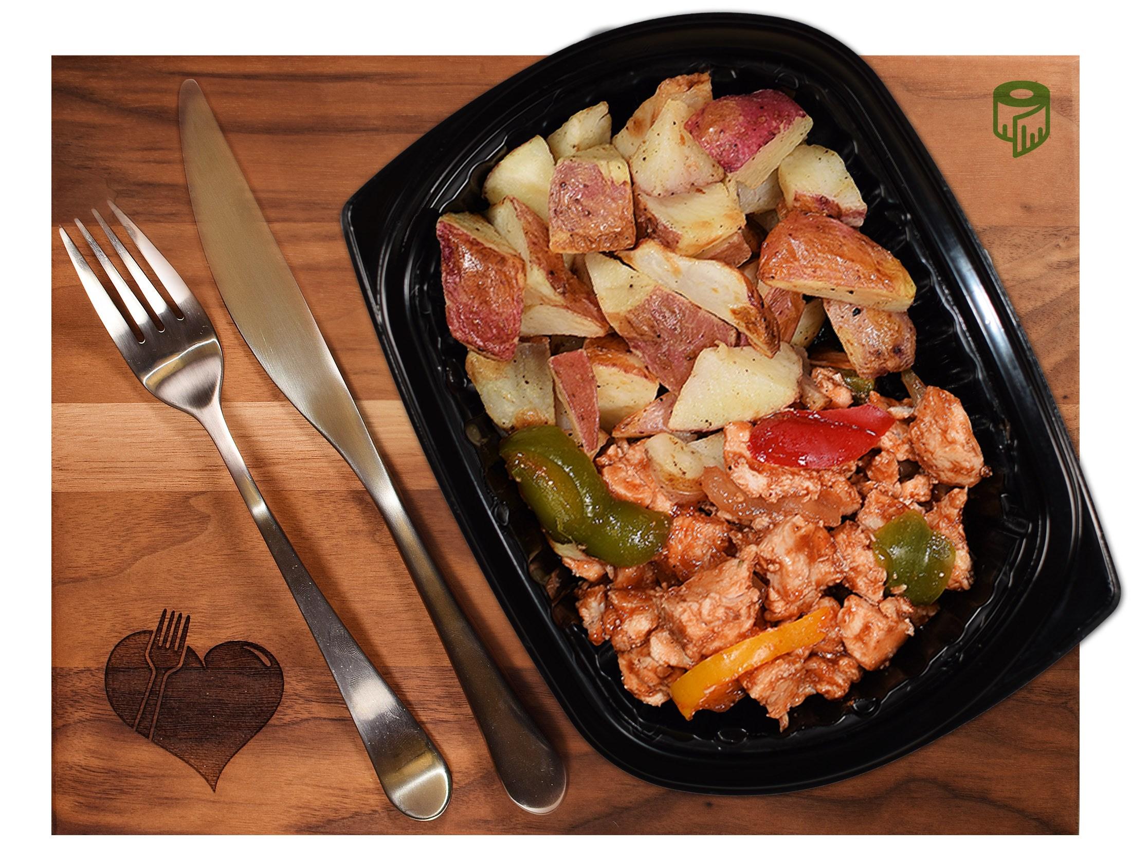 BBQ Chicken w/ Red Potatoes