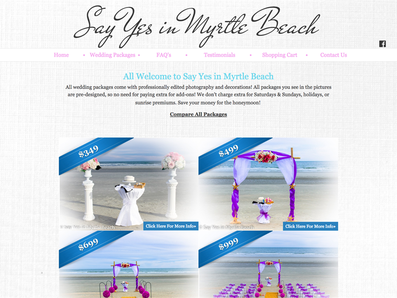 Say Yes In Myrtle Beach