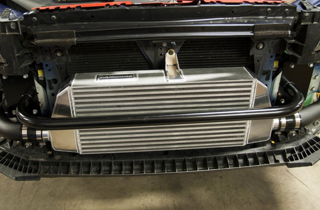 intercooler-installed