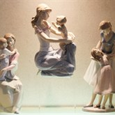 Lladro I Want to Be Like You available at Albert F. Rhodes Jewelers
