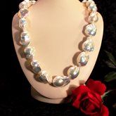 Freshwater Baroque Pearl Strand available at Albert F. Rhodes Jewelers