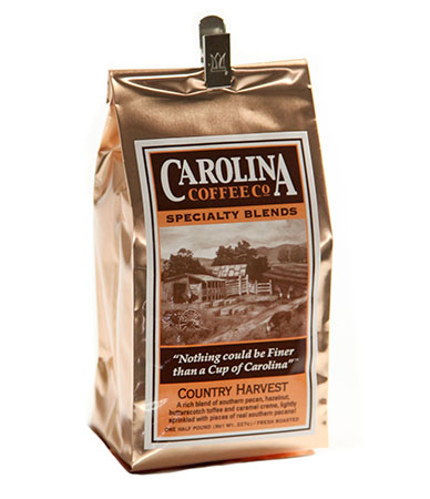 Carolina Coffee Country Harvest Blend Swiss Water Decaf