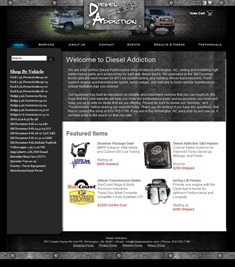 Welcome to Diesel Addiction - a full service Diesel Performance shop located in Wilmington, NC