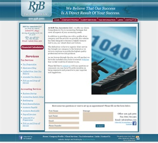 A new site for RJB Tax Associates!