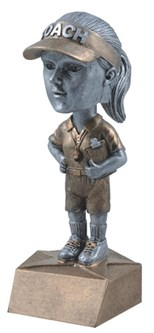 BH 6 Female Coach Bobblehead ***As low as $8.40***