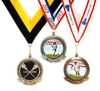MDL-PL - Lacrosse Medal ***AS LOW AS $4.70***