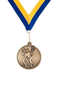 MDL-5 Female Lacrosse Medal ***AS LOW AS $2.20 each***