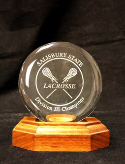 L-13 - Paperweight Glass Award