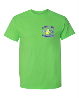 Lime Green cotton T-shirt - Order due by Monday, June 11, 2018