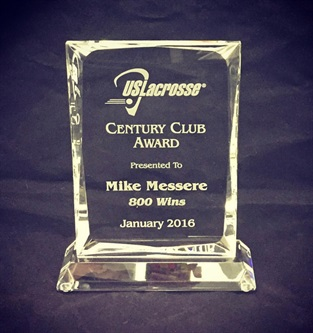 CRY110 Lacrosse Glass Award
